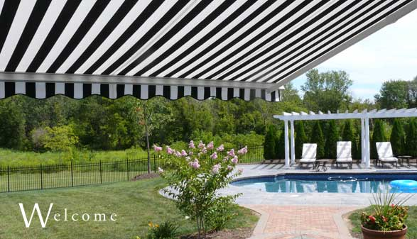 perfecta awnings retractable awning manufacturer coopersburg pa